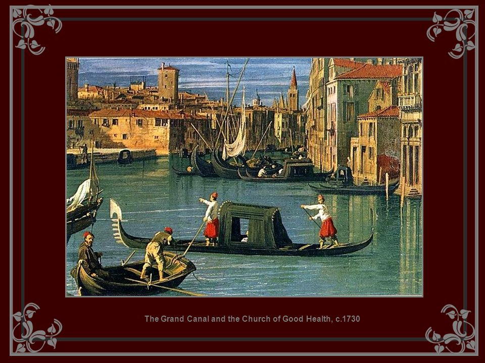 The Grand Canal and the Church of Good Health, c.1730