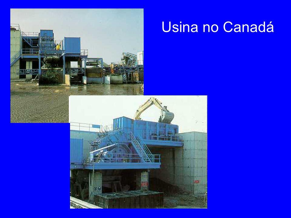 Usina no Canadá