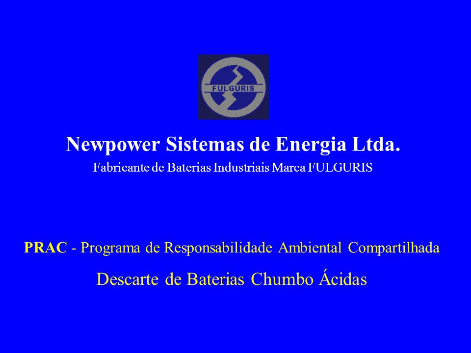 Newpower Sistemas de Energia Ltda.