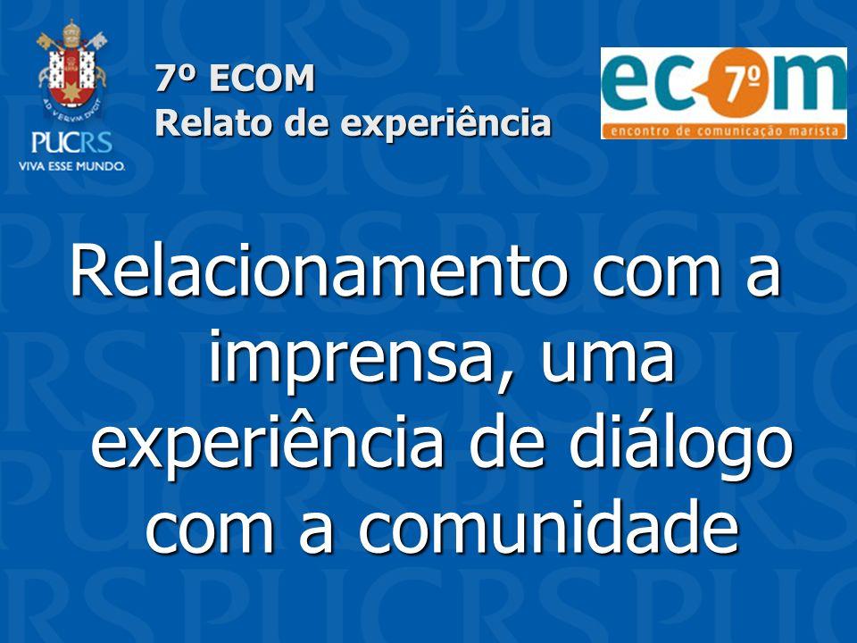 7º ECOM Relato de experiência