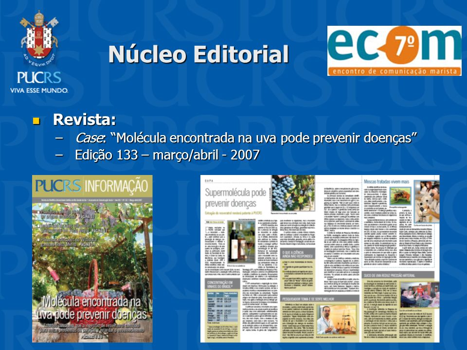 Núcleo Editorial Revista: