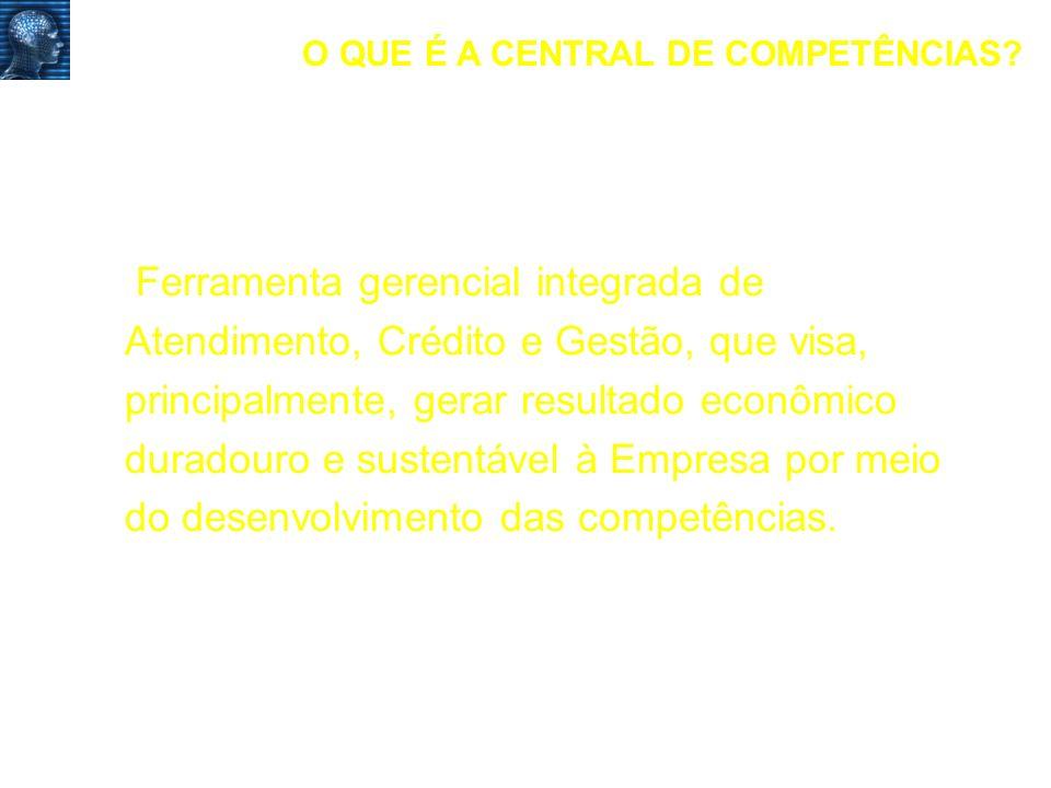 O QUE É A CENTRAL DE COMPETÊNCIAS