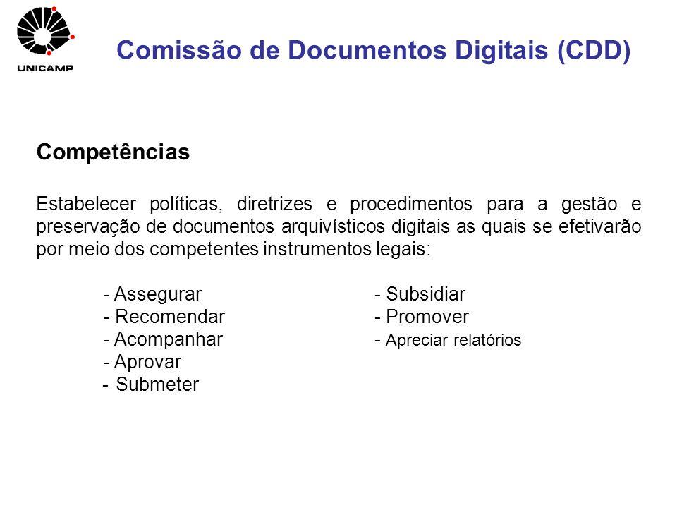 Comissão de Documentos Digitais (CDD)