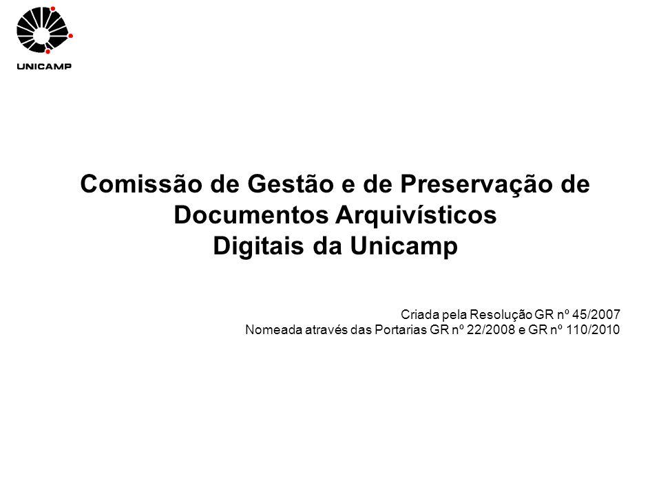 Comissão de Gestão e de Preservação de Documentos Arquivísticos