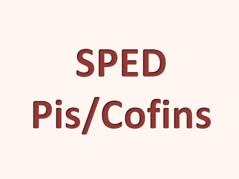 SPED Pis/Cofins