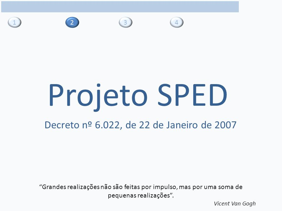Decreto nº 6.022, de 22 de Janeiro de 2007