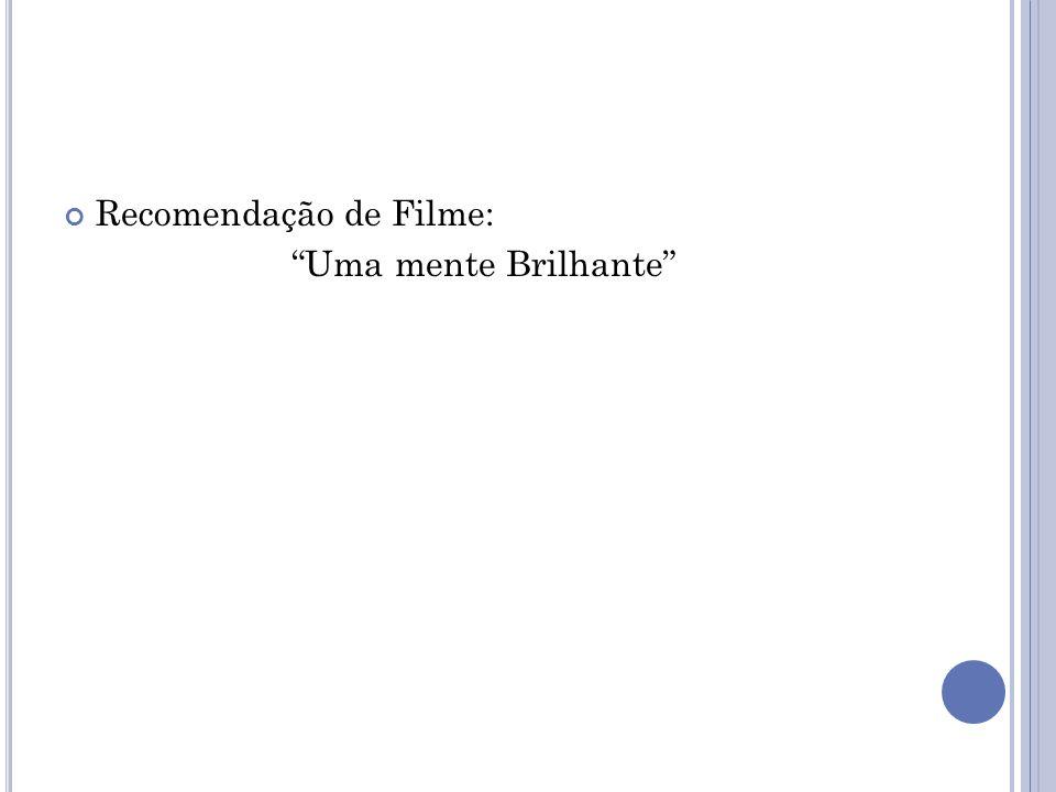 Recomendação de Filme: