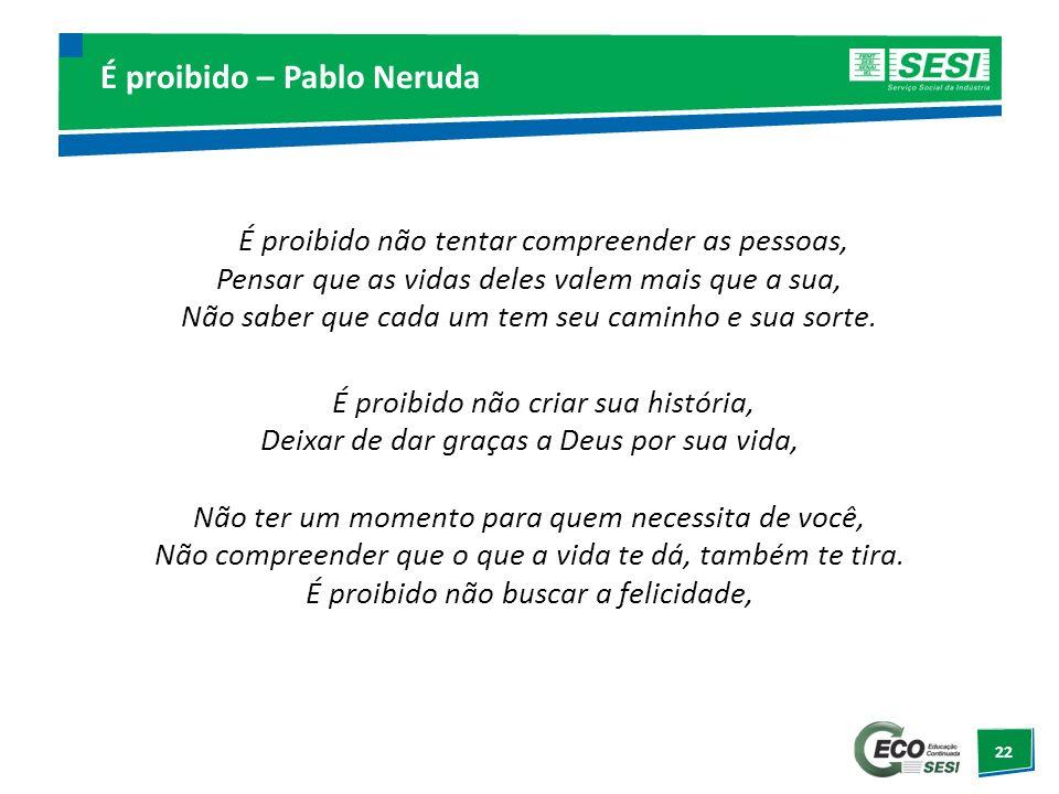 É proibido – Pablo Neruda
