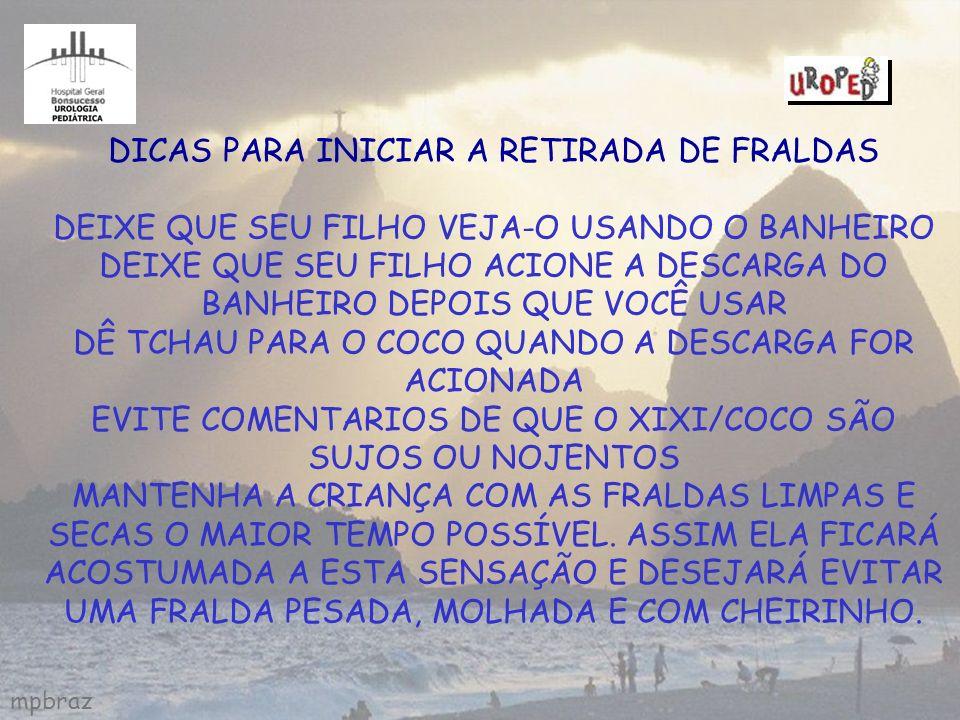 DICAS PARA INICIAR A RETIRADA DE FRALDAS