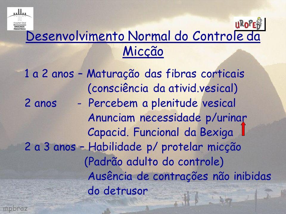 Desenvolvimento Normal do Controle da Micção