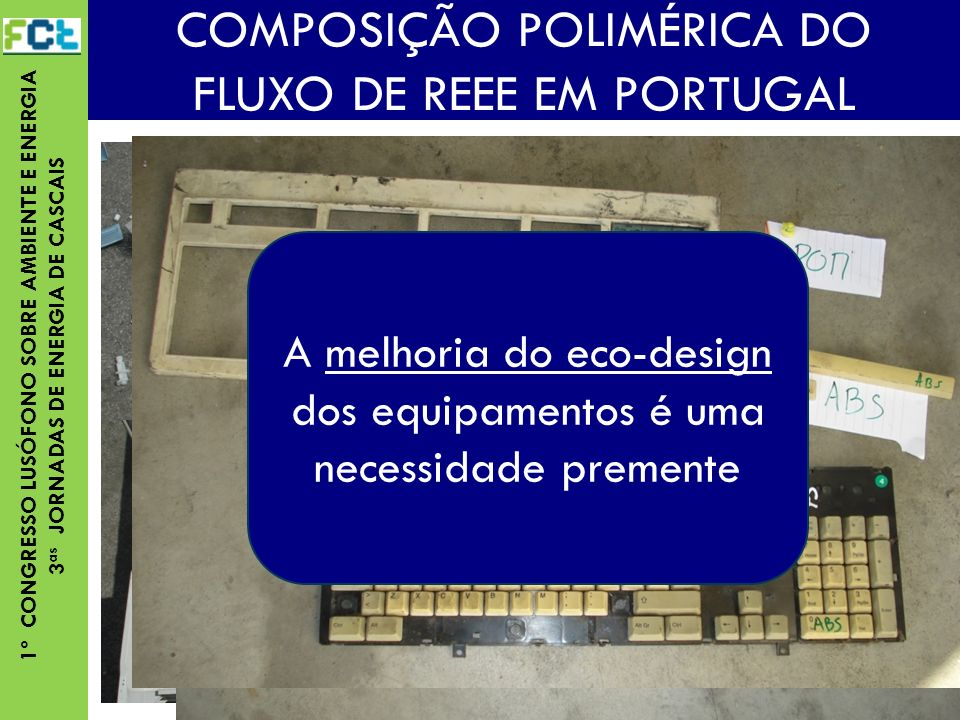 COMPOSIÇÃO POLIMÉRICA DO FLUXO DE REEE EM PORTUGAL