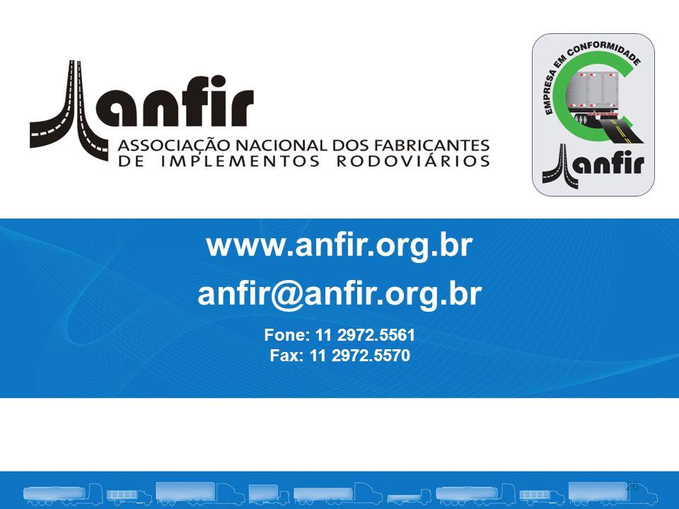 www.anfir.org.br anfir@anfir.org.br