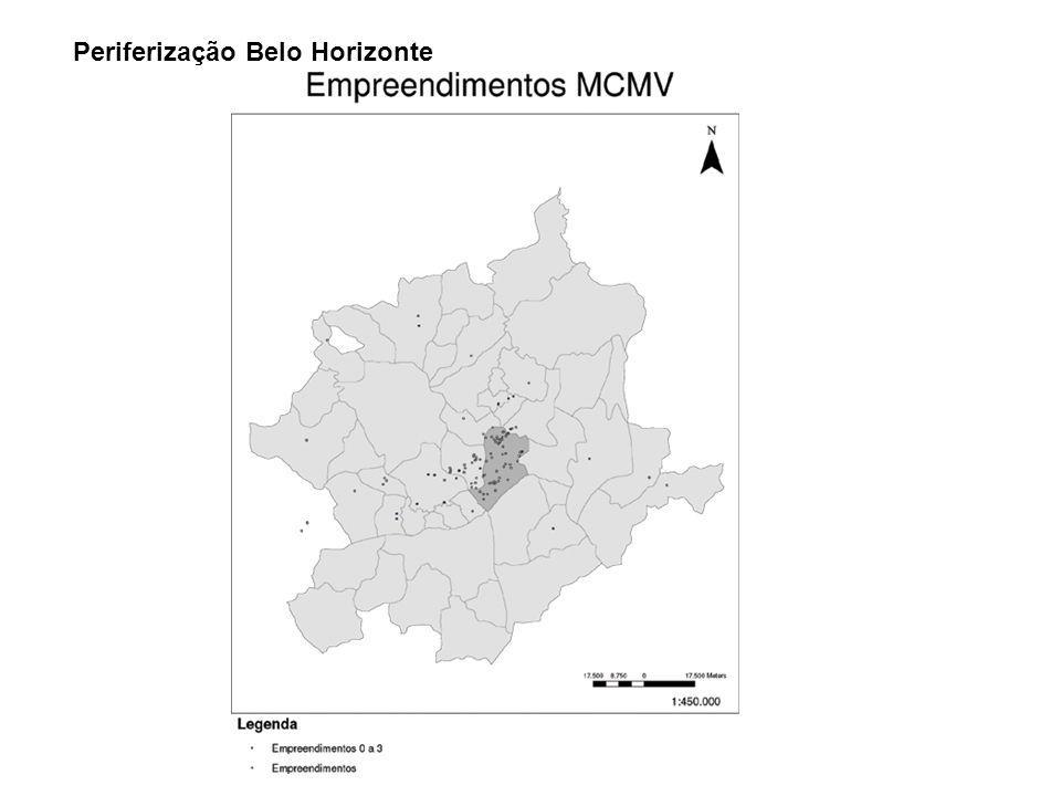 Periferização Belo Horizonte