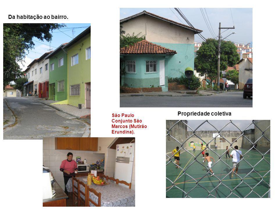 Da habitação ao bairro. Propriedade coletiva São Paulo