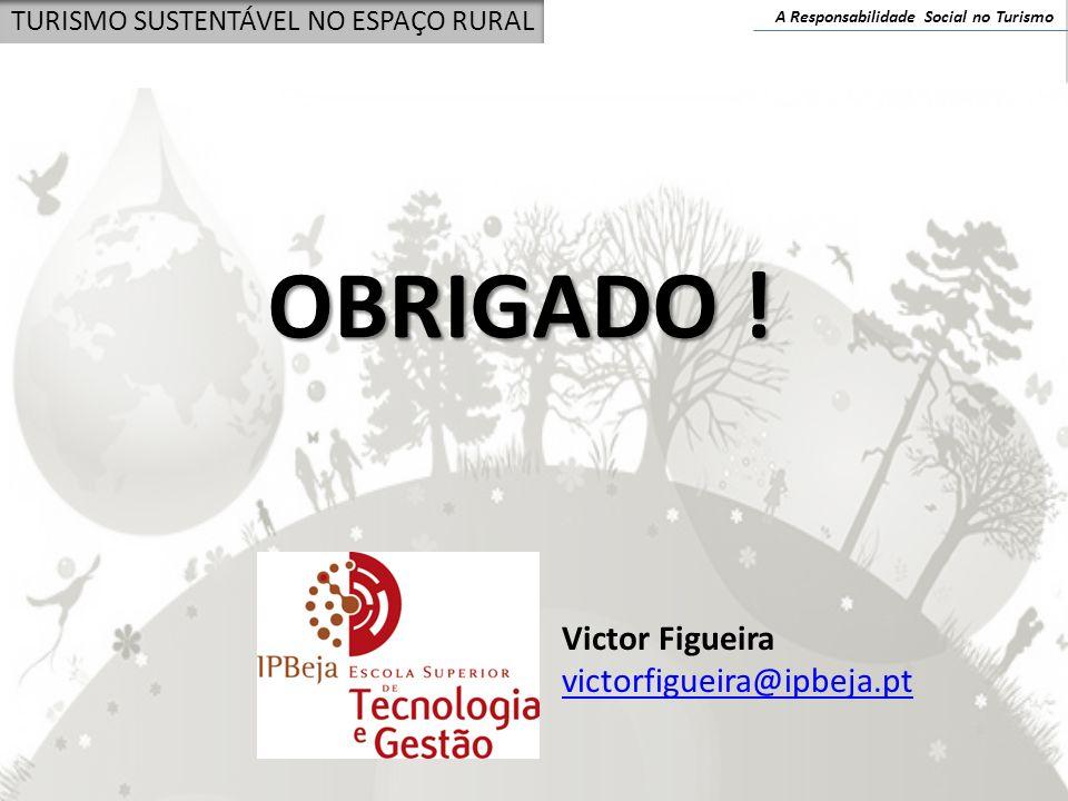OBRIGADO ! Victor Figueira victorfigueira@ipbeja.pt