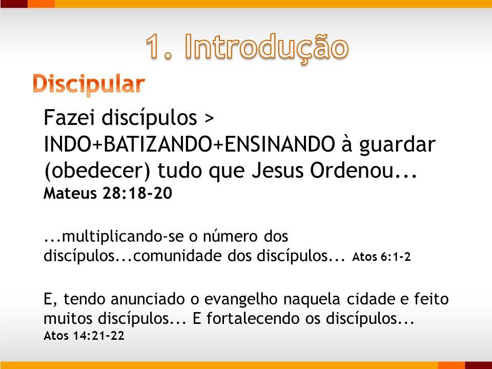 1. Introdução Discipular