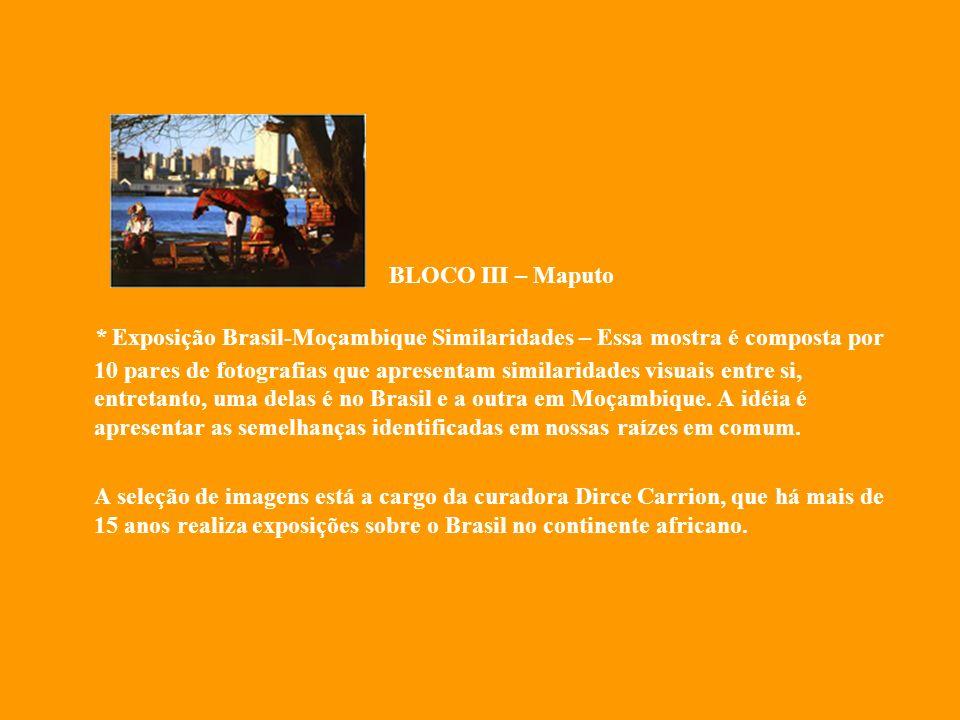 BLOCO III – Maputo