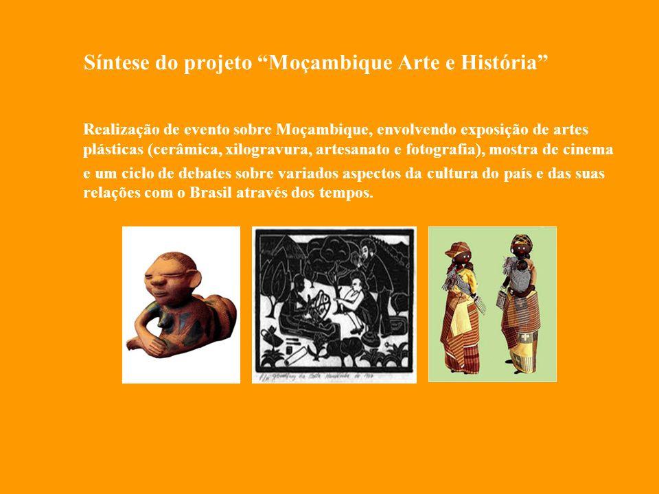 Síntese do projeto Moçambique Arte e História