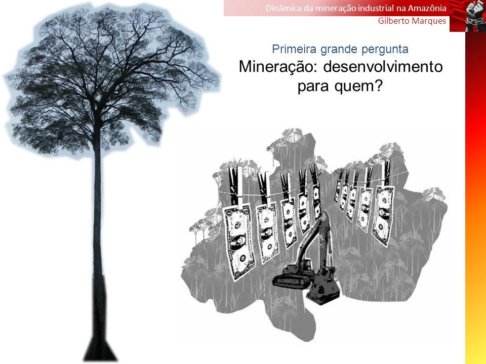 Mineração: desenvolvimento para quem