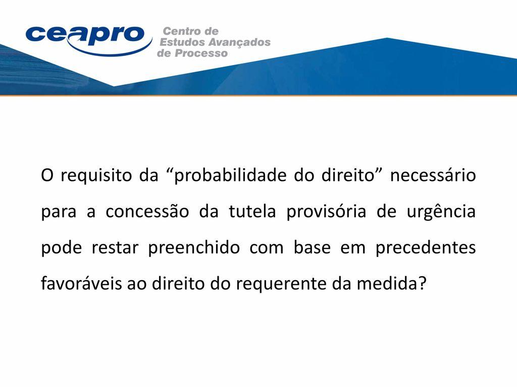 Estabilização da tutela antecipada concedida em carater antecedente 10