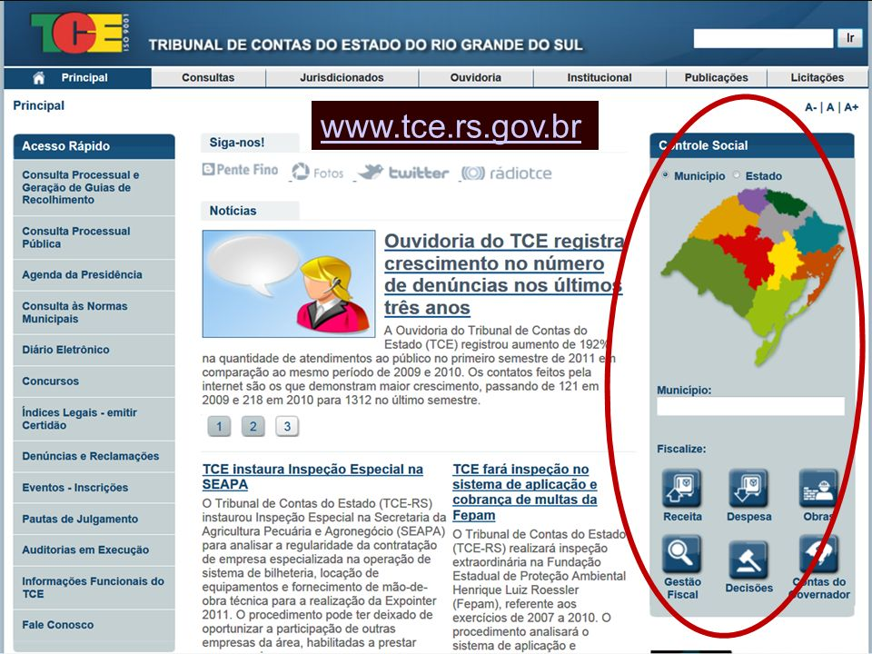 www.tce.rs.gov.br