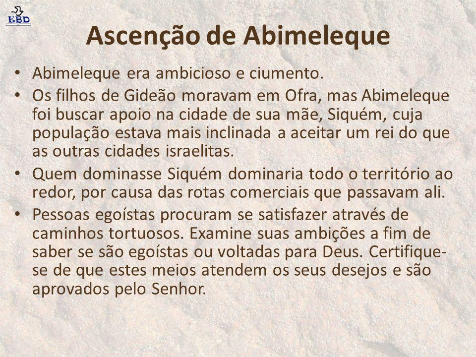 Ascenção de Abimeleque