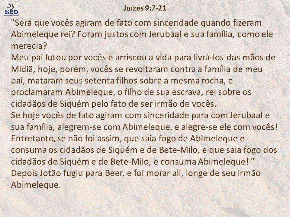 Juízes 9:7-21