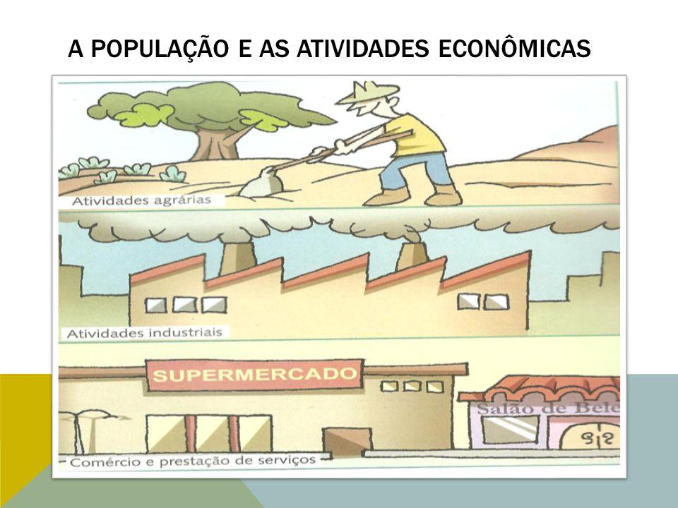 A população e as atividades econômicas