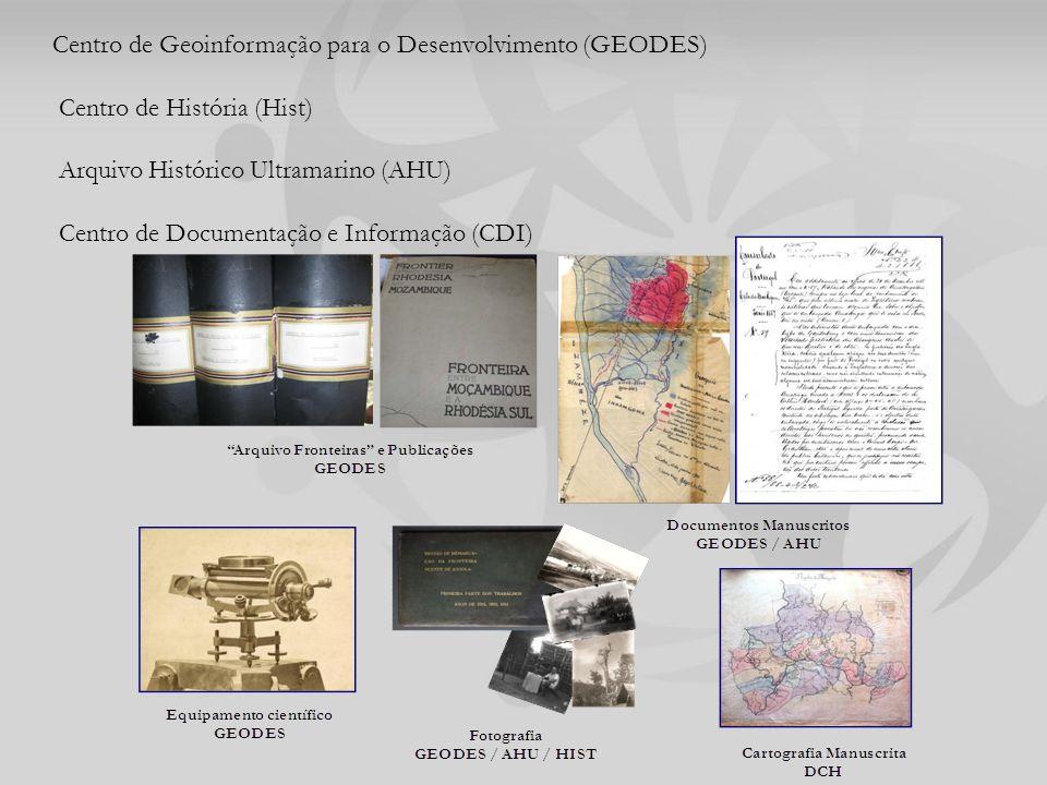 Centro de Geoinformação para o Desenvolvimento (GEODES)
