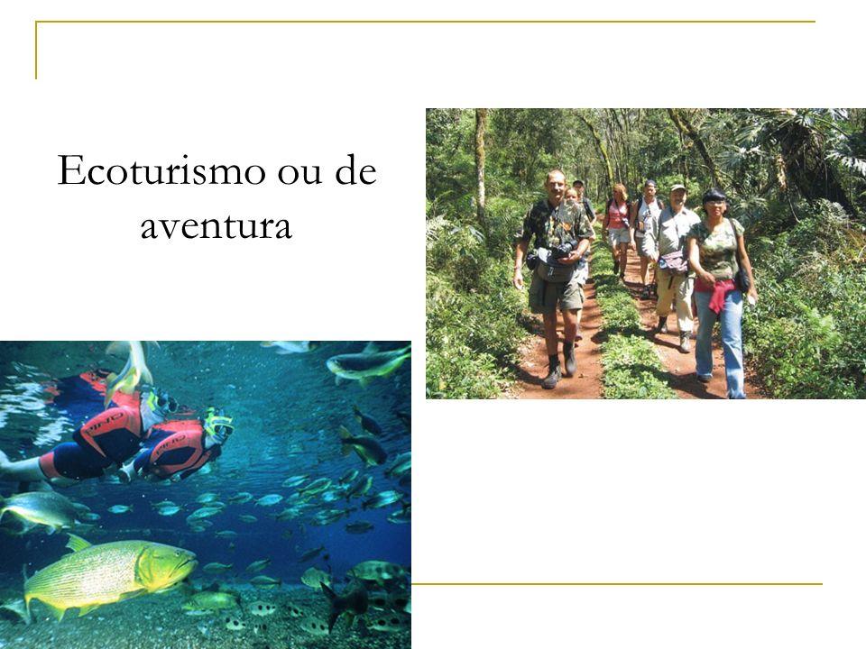 Ecoturismo ou de aventura