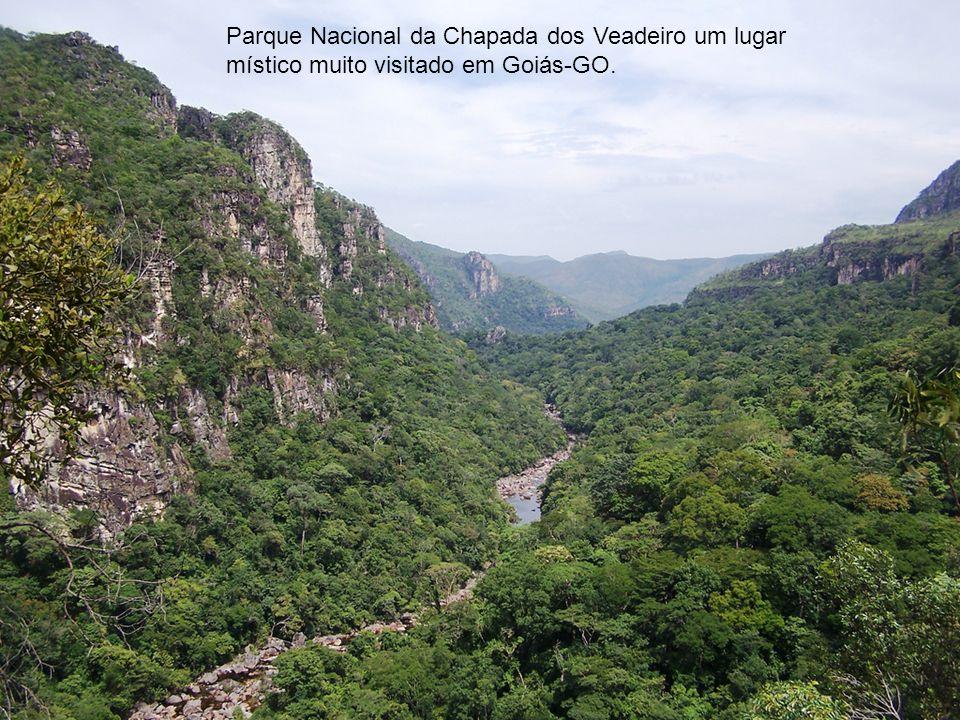 Parque Nacional da Chapada dos Veadeiro um lugar místico muito visitado em Goiás-GO.