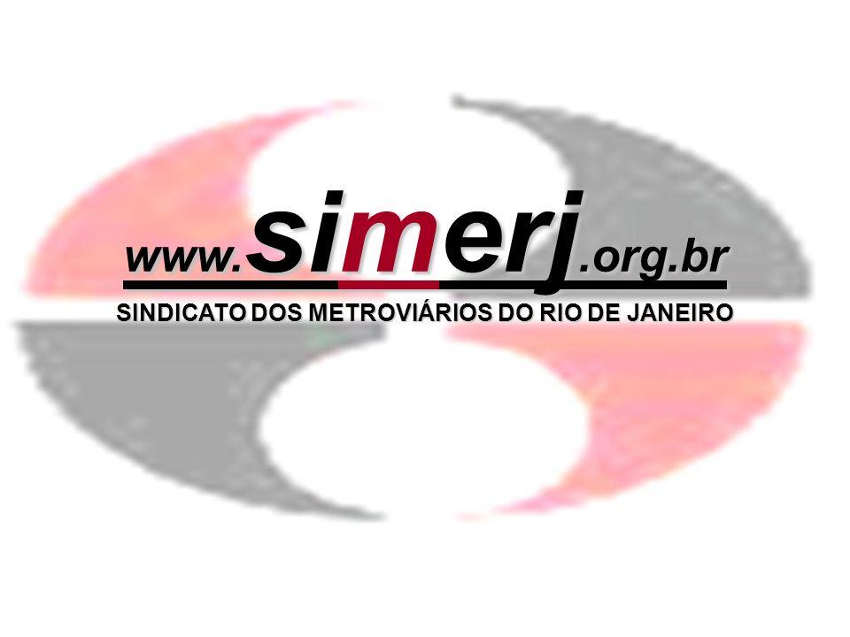 SINDICATO DOS METROVIÁRIOS DO RIO DE JANEIRO