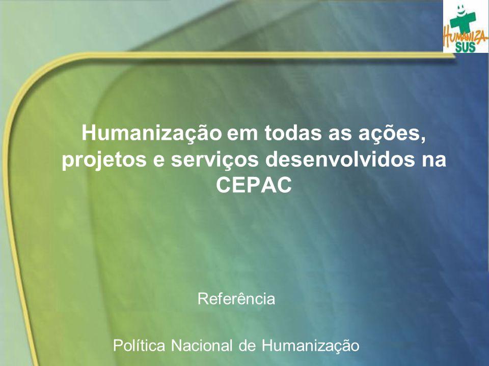 Referência Política Nacional de Humanização