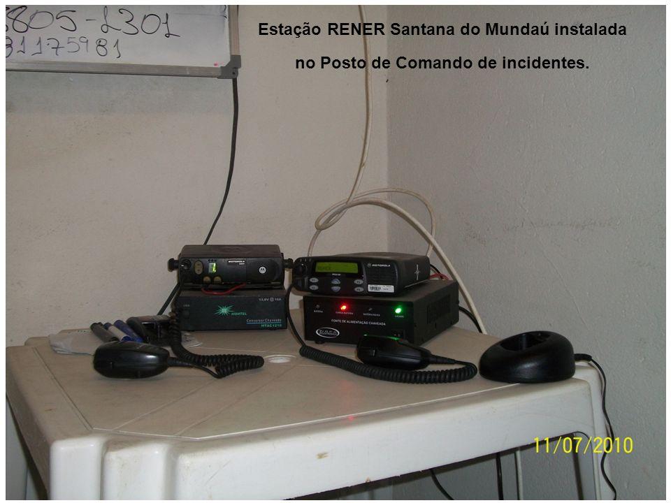 Estação RENER Santana do Mundaú instalada