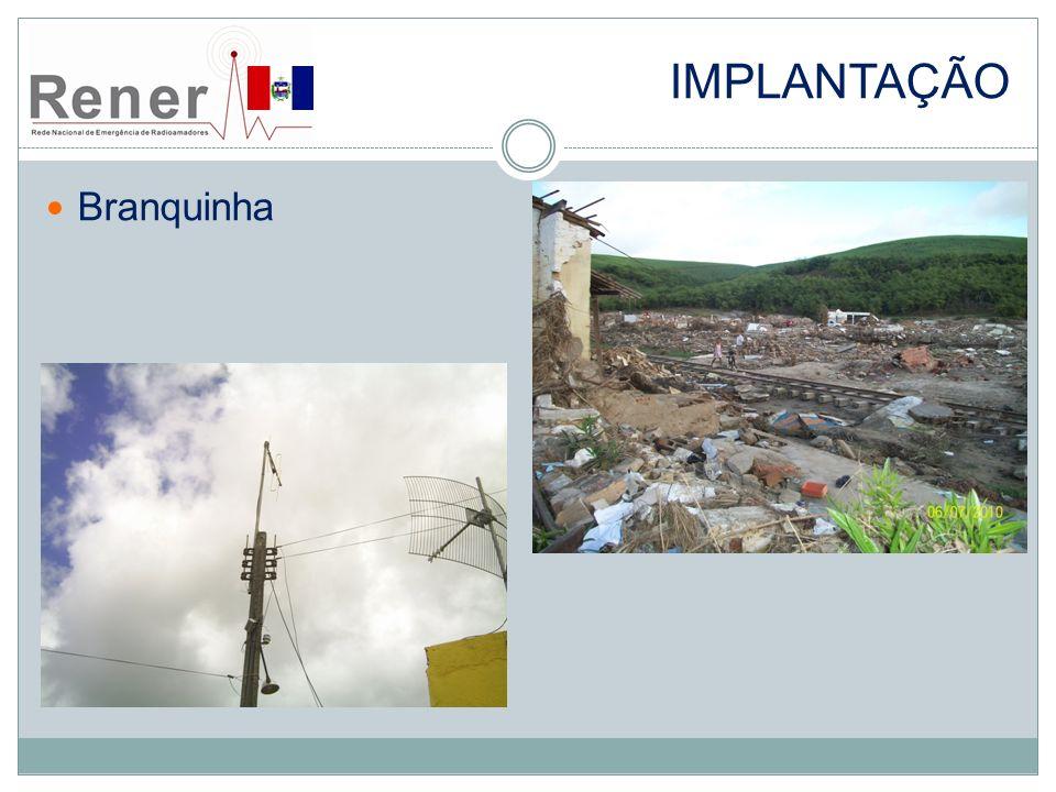 implantação Branquinha Foto da cidade devastada