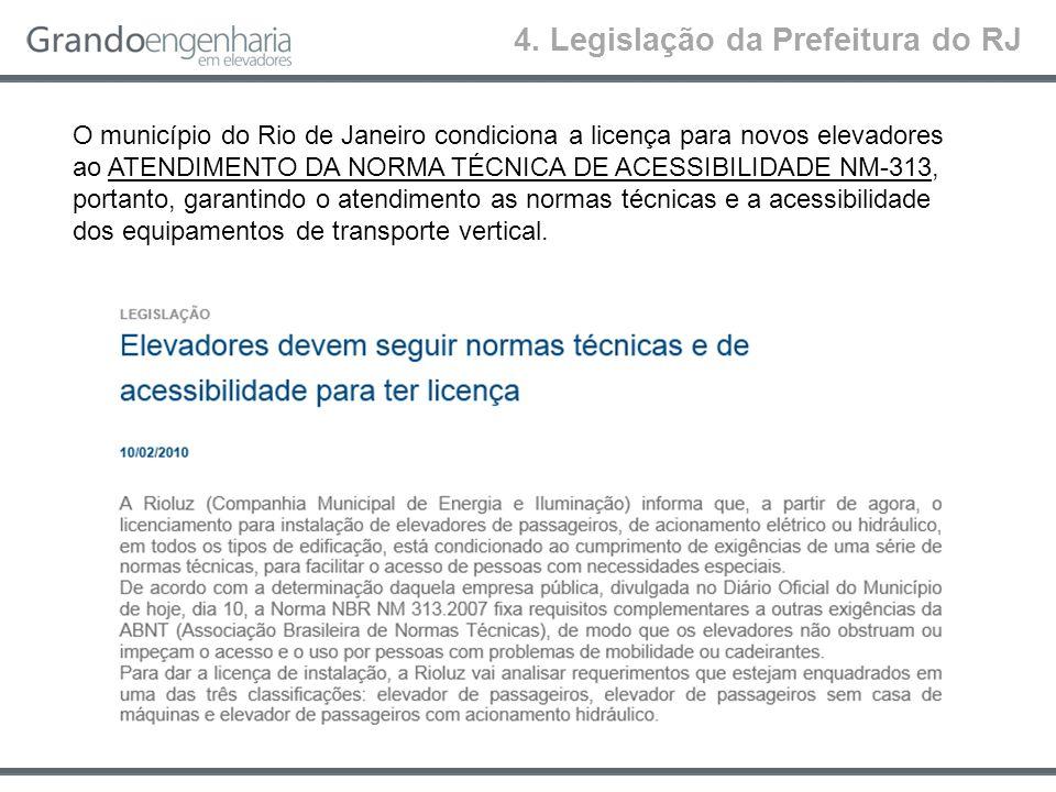 4. Legislação da Prefeitura do RJ