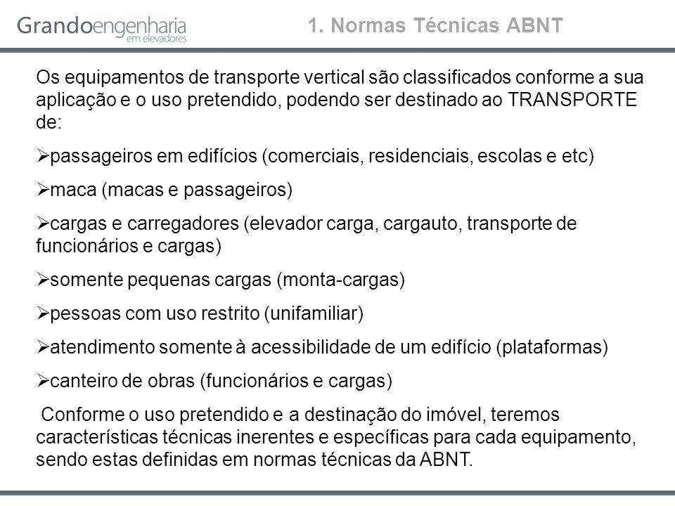 1. Normas Técnicas ABNT