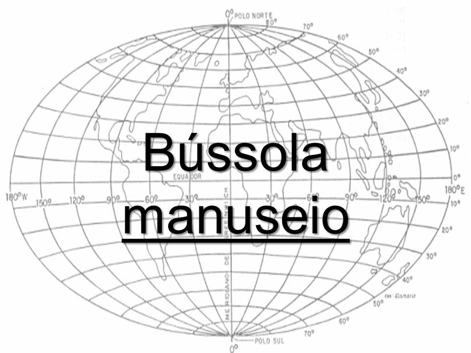 Bússola manuseio