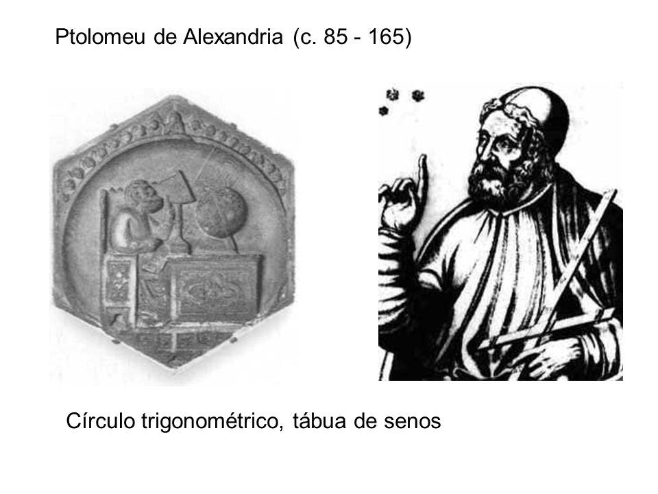 Ptolomeu de Alexandria (c. 85 - 165)