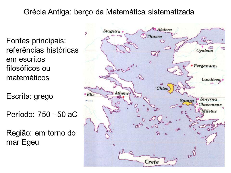 Grécia Antiga: berço da Matemática sistematizada