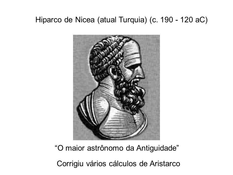 Hiparco de Nicea (atual Turquia) (c. 190 - 120 aC)
