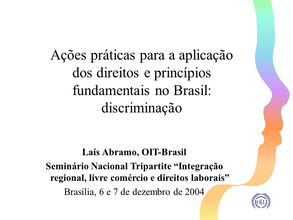Laís Abramo, OIT-Brasil