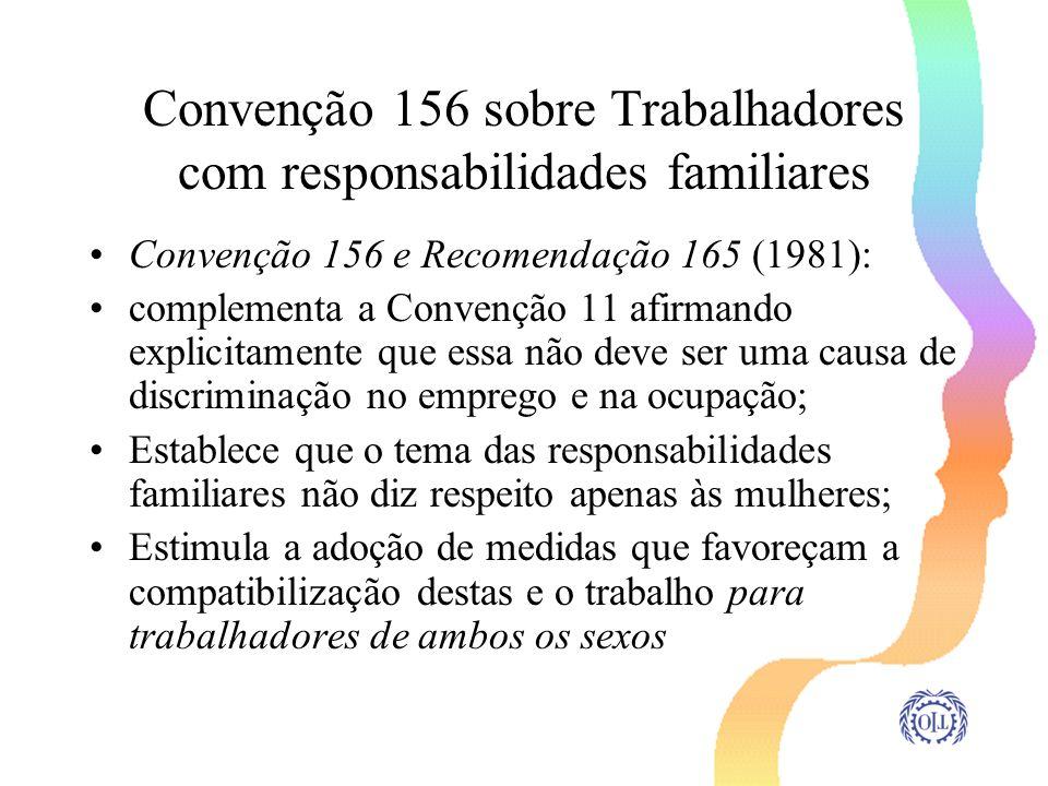 Convenção 156 sobre Trabalhadores com responsabilidades familiares