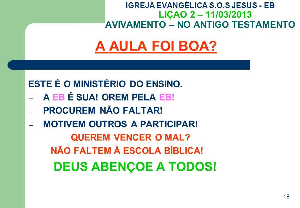 A AULA FOI BOA ESTE É O MINISTÉRIO DO ENSINO.
