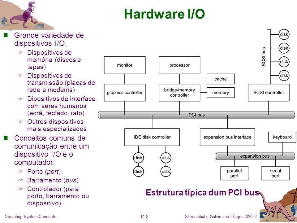 Estrutura típica dum PCI bus