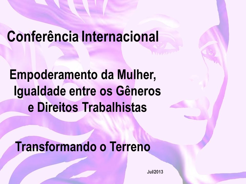 Conferência Internacional Transformando o Terreno