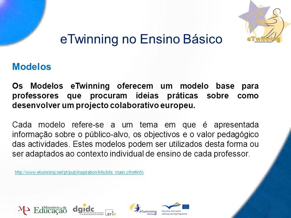 eTwinning no Ensino Básico