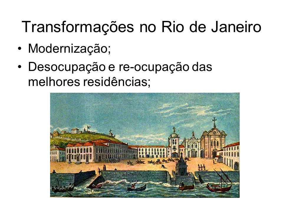 Transformações no Rio de Janeiro
