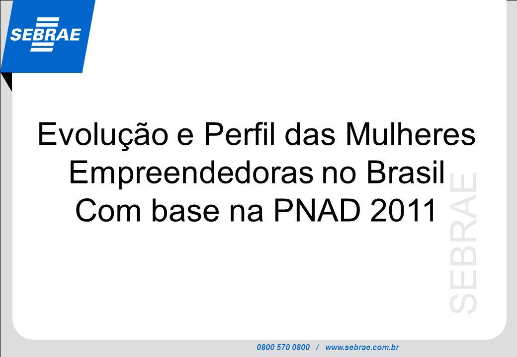 Evolução e Perfil das Mulheres Empreendedoras no Brasil