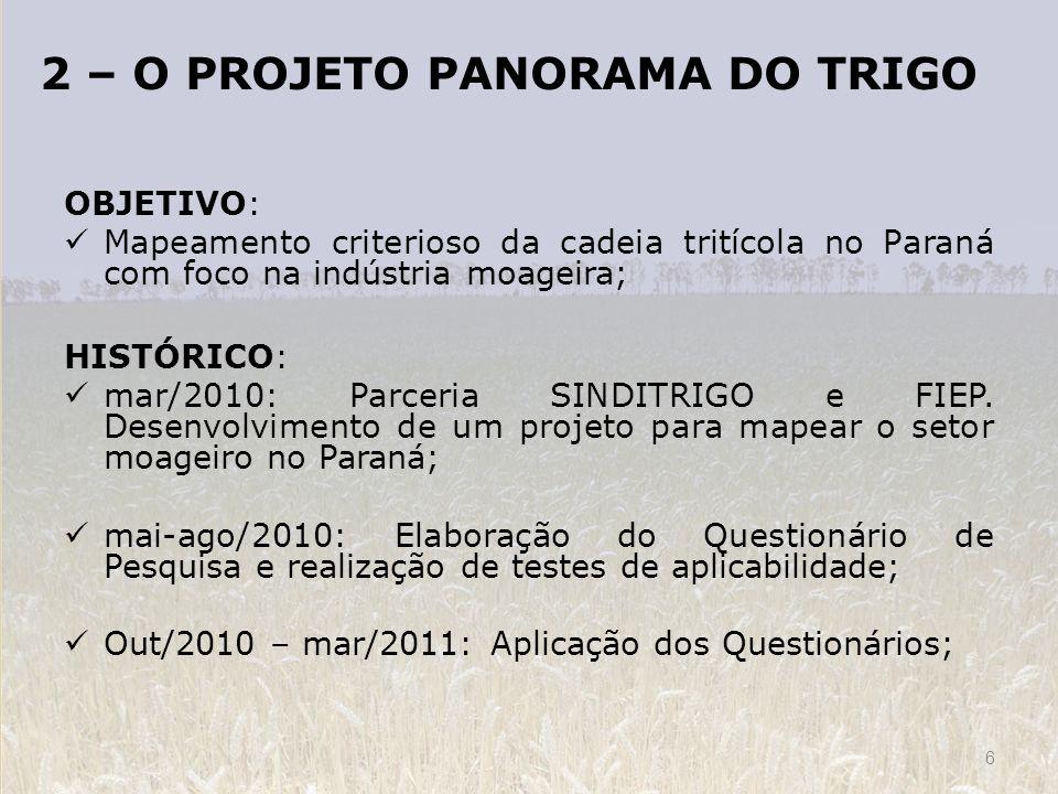 2 – O PROJETO PANORAMA DO TRIGO